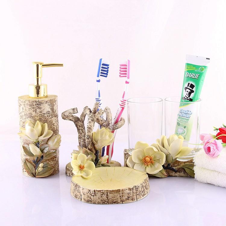 Free Shipping Fashion Decoration Tree Home Bathroom Set Accessories (acessorios para banheiro)(China (Mainland))