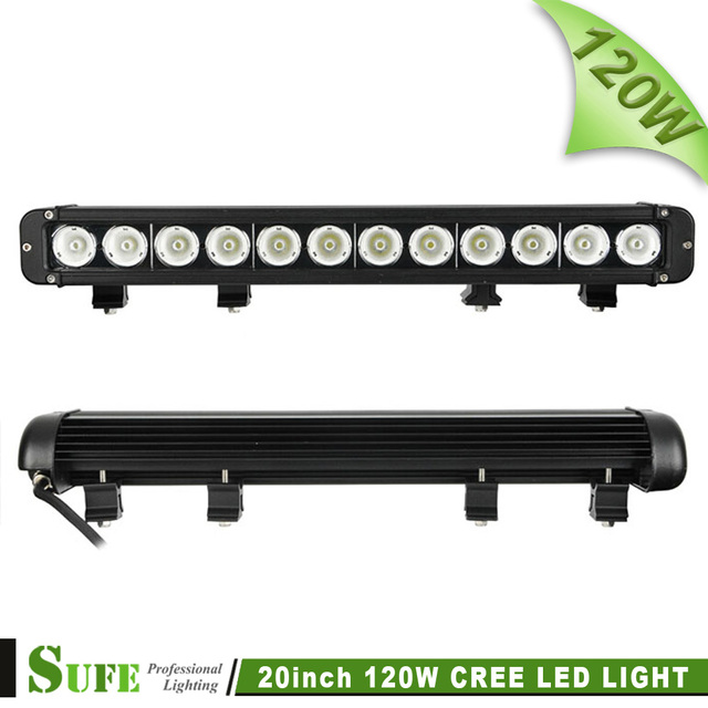 20 INCH 120W CREE LED LIGHT BAR DRIVING LIGHT COMBO FOR OFFROAD MARINE BOAT CAMPING 4x4 ATV UTV USE 180W 240W