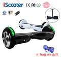 iScooter hoverboard BT Electric Skateboard steering wheel Smart 2 wheel self Balance Standing scooter hover board