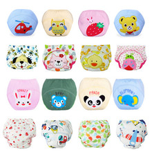 1 piece 2015 NEW ! Baby Diapers/Children Reusable Underwear/Breathable Diaper Cover/Cotton Training Pants/Can Tracked