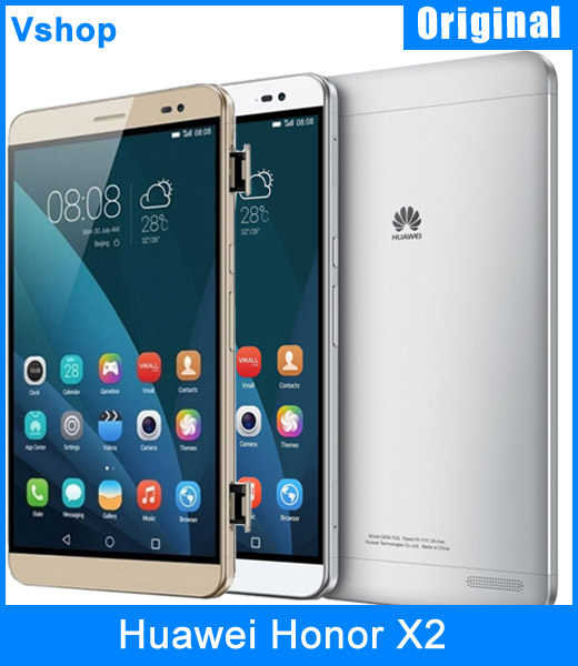 Original Huawei Honor X2 4G 7.0 inch Hisilicon Kirin 930 Octa Core 2.0GHz Dual SIM RAM 3GB ROM 16/32GB Android 5.0 Smartphone(China (Mainland))