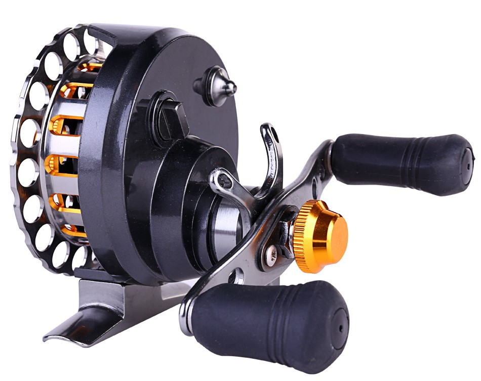 Saltwater raft fishing reel fly ice fishing tackle reels 6 for Fly fishing raft for sale