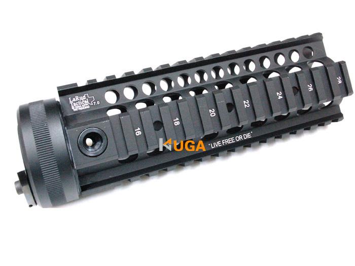 LaRue 7.0 inch Hand Guard Rail System for AEG M4/M16(Black)-Free shipping(China (Mainland))