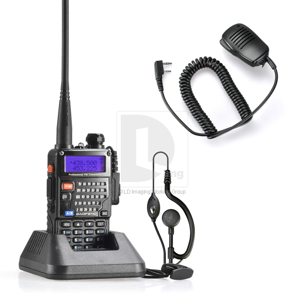 New BAOFENG UV-5RE PLUS UHF+VHF Dual Band/Dual Watch Walkie Talkie Two-Way Radio with FM Function 017010 Free Shipping(China (Mainland))
