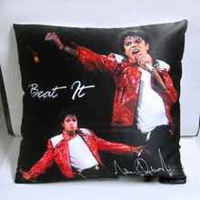 Pillowcase Michael Jackson Cushion Pillow Cover 1pc Beat It style