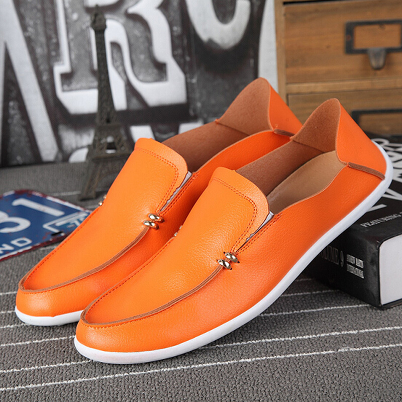 Casual Men Pu Leather Loafers Shoes Men Moccasins Male Boat Loafers Driving Shoes High Quality Men Fashion Spring Autumn Shoe 3A(China (Mainland))