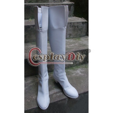 Mobile Suit Gundam Cosplay shoes adult white boots custom made D1020