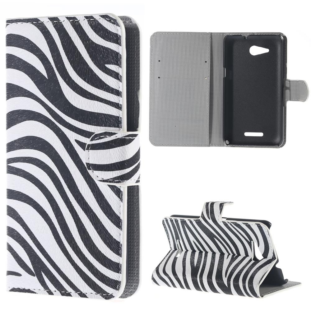For Sony Xperia series fashion zebra stripes painting print case skin shell brand custom phone cover high quality sew bond work(China (Mainland))