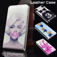 Huawei Ascend Y511 Case PU Leather Vertical Up And Down Cover for Huawei Ascend Y511 Free Shipping