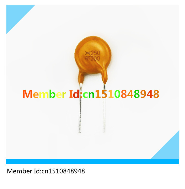 Resettable Fuses TRF250-200 250V 2A TYCO/Raychem Brand  TRF250-200 250V 2000MA RF200 PPTC Resettable Fuses<br><br>Aliexpress