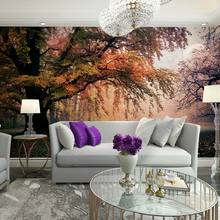Nature wall mural papel de parede big tree landscape photo wallpaper murals for living room bedroom tv sofa background decor(China (Mainland))