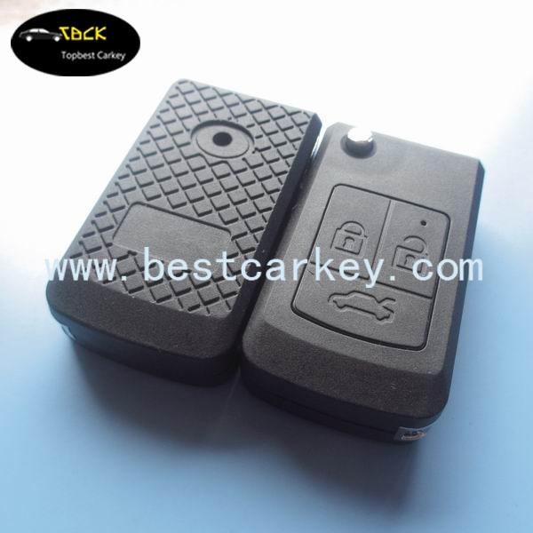 Big Discount 3 button remote key case for lada car key shell no logo(China (Mainland))