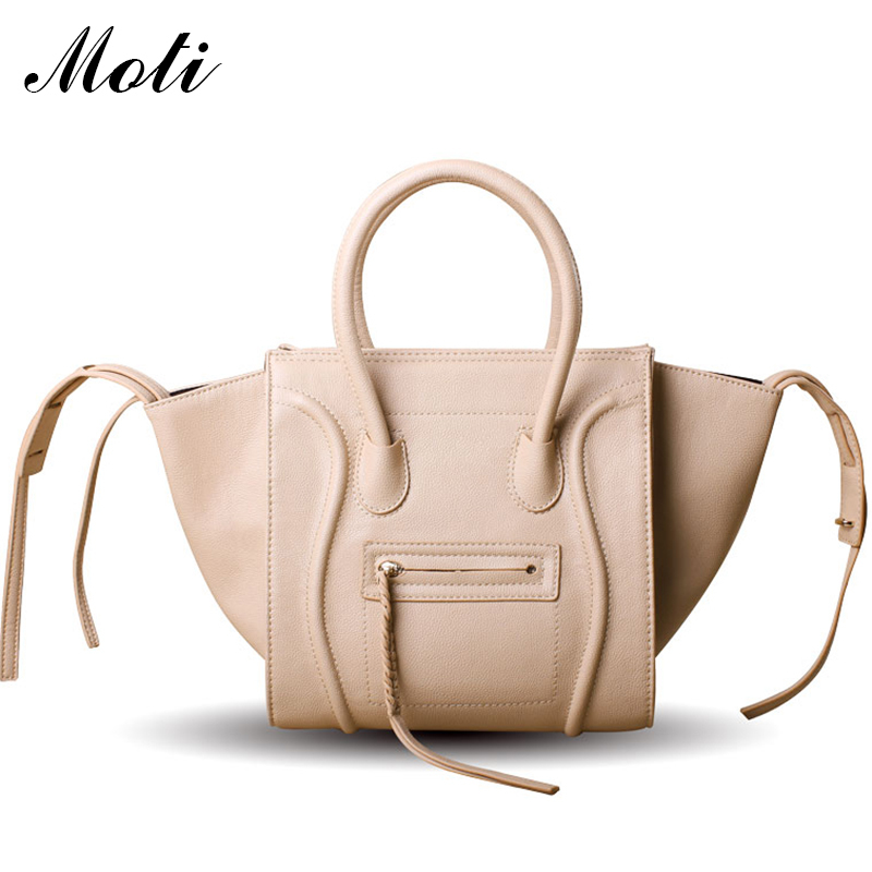 2015 Famous Luxury Brand Fashion Women Lady PU Leather Smiley Tote Bag,Smile Face Color Tassel Classic Purse Handbag New 2013 63(China (Mainland))