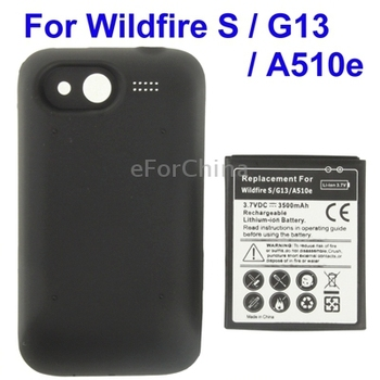 High Quality Mobile Phone Battery / Cover Back Door for HTC Wildfire S / G13 / A510e