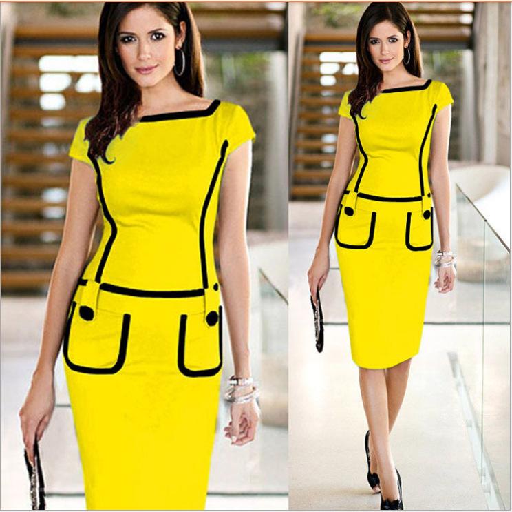 Aliexpress.com : Buy women smart casual dress, latest casual dress ...