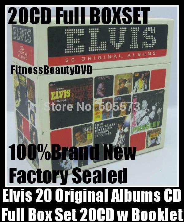 NEW-Elvis-Presley-20-CD-Original-Albums-Booklet-Perfect-Collection