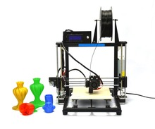 2015 High Quality Precision Reprap Prusa i3 DIY 3d Printer kit with stable Aluminum Frame (HIC 3DP-11 Black)