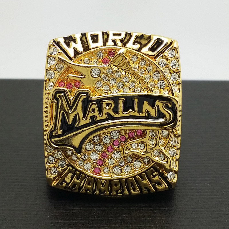2003 Florida Marlins MLB World Series Championship Alloy Ring 11 Size 'Beckett' Fans Gift Collection High Qaulity - ring store
