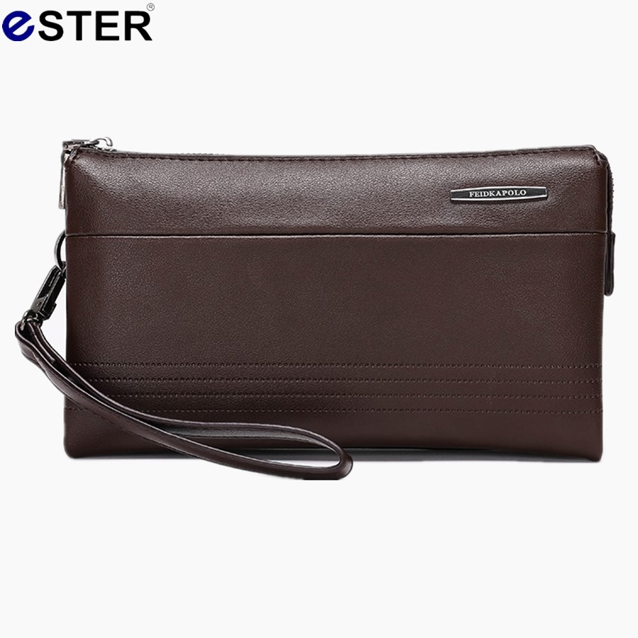 Fashion leather man bag large-capacity high-grade long section clutch wallet business man Free Shipping M1095(China (Mainland))