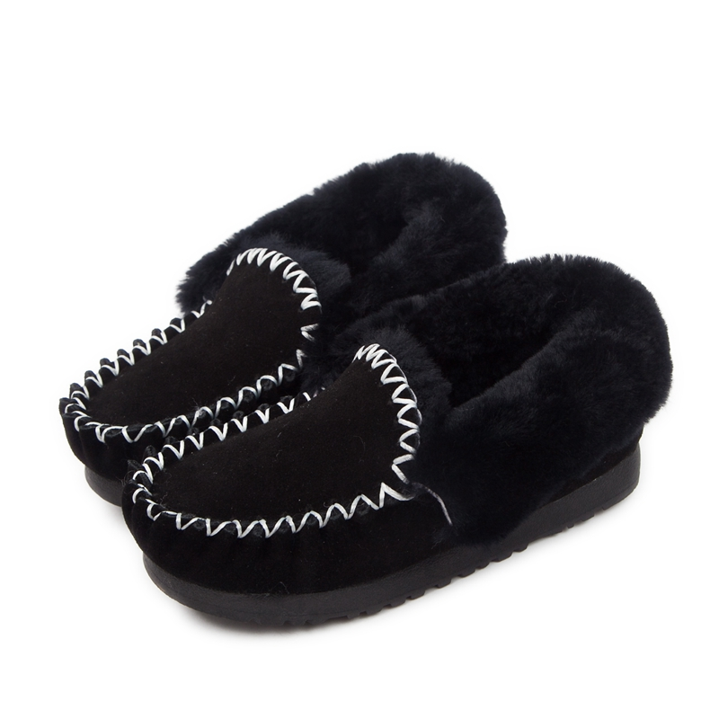 2015 Autumn Winter Women Snow Boots Fur One Piece Boots Ankle Warm Shoes Wool Moccasins Female 14 Colors Size 35-43 FreeShipping