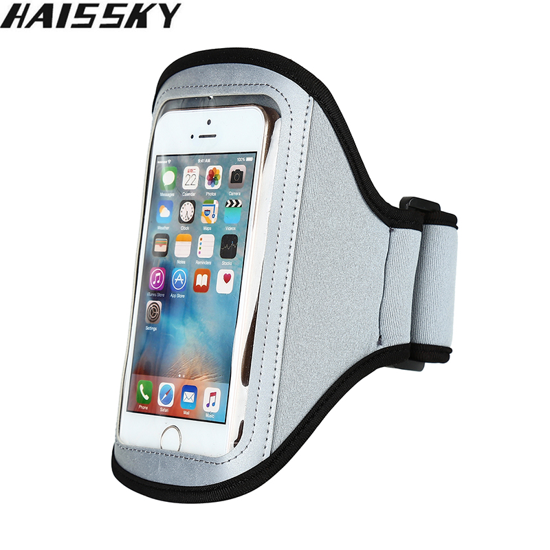 Haissky Universal Gym Running Sports Armband For iPhone 5 5S 5C SE 4 4S 3G / 3GS For Samsung Galaxy S2 S3 Arm band Case Cover(China (Mainland))