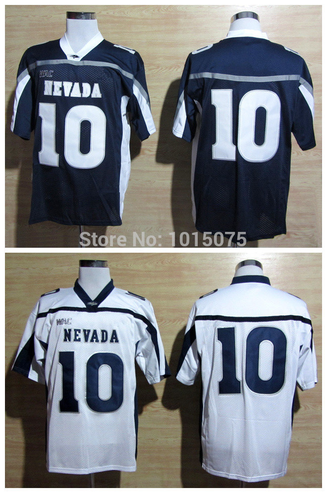 2015 Cheap Colin Kaepernick Nevada Wolf Pack Jersey College College Unifroms White Blue(China (Mainland))