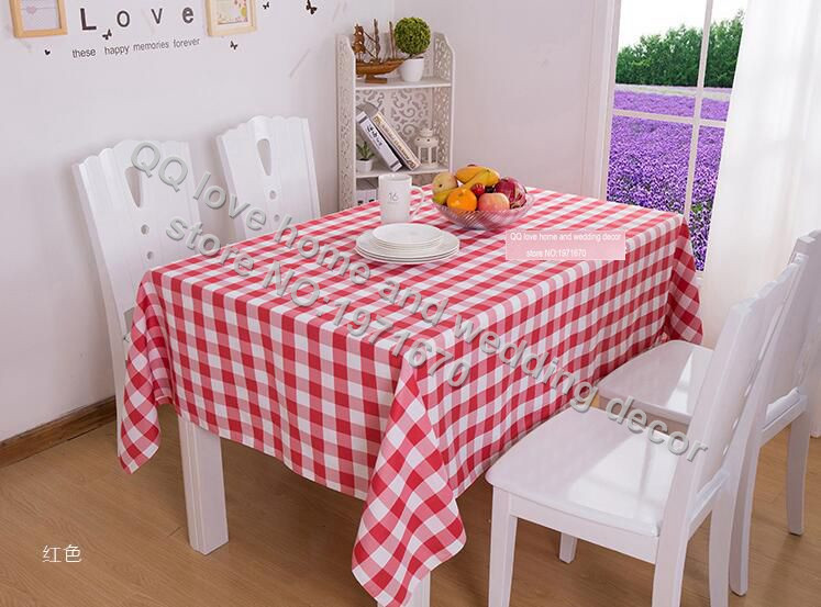 Grid antependium fabric picnic blanket hotel tablecloths hotel restaurant tablecloth coffee tea table cloth grid square(China (Mainland))
