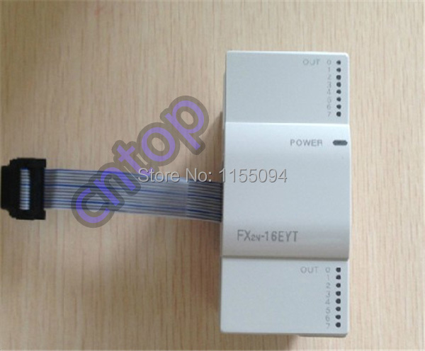 Free shipping New original FX2N-16EYT PLC 16 Sink Transistor Outputs Unpowered Extension Unit<br><br>Aliexpress