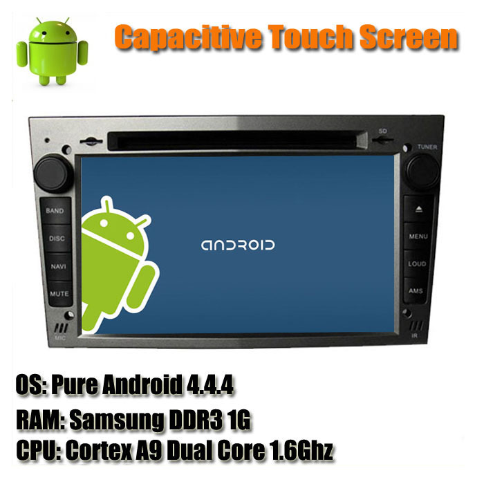 Free Shipping Android 4.4 Capacitive Touchscreen Car DVD Player For Vauxhall Opel Astra Zafira Corsa GPS Radio Stereo WIFI Map(China (Mainland))