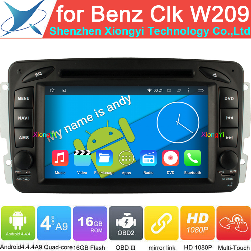 Quad Core Car Computer PC For Mercedes Benz Vaneo Viano Vito W203 SLK W168 CLC209 W209 W463 w168 with Android4.4 Car GPS DVD Nav(China (Mainland))