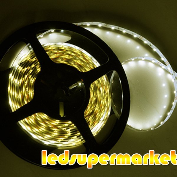 5M Warm White 3528 smd LED Light 300 leds Non-waterproof