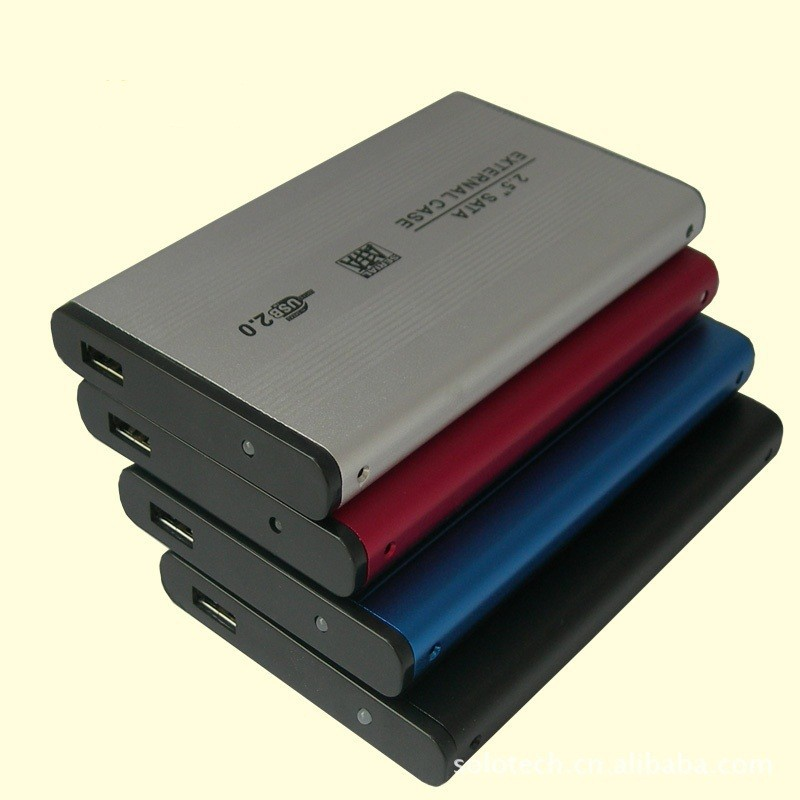 200pcs/lot SATA / IDE HDD case enclosure USB2.0 2.5 inch hard disk driver bulk order price made in our factory best price(China (Mainland))