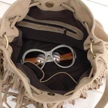 Women Handbag Popular Faux Suede Fringe Tassel Shoulder Messenger Bag New Fashion Handbags
