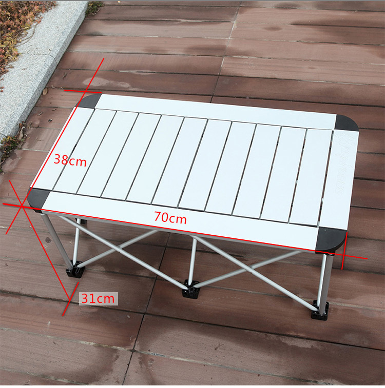 2015 New Mesa Dobravel Real Metal Iron Desk And Chair Free Shipping Outdoor Folding Tables Chairs Aluminum Alloy Portable Table(China (Mainland))