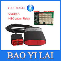 New DS150e CDP PRO Plus TRUCK with Bluetooth For delphi Car Auto automotive OBD OBDII Scanner Diagnostic tools tools