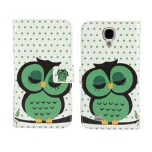 Buy Wallet Cases Samsung Galaxy S5 S4 S3 Mini Mobile Phone Bag Cover Cases Coque Etui Fundas Capa Cute Dot Owl for $2.99 in AliExpress store