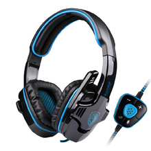 Sades Sa-901 Usb Game Headset Free Drive Technology, With Independent Sound Headset Computer Esports Wheat Microphone Earphones