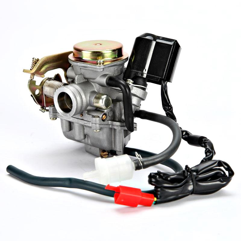 New 22mm Carb Motorcycle Carburetor With Fuel Filter For GY6 50CC Scooter Moped Go Kart<br><br>Aliexpress