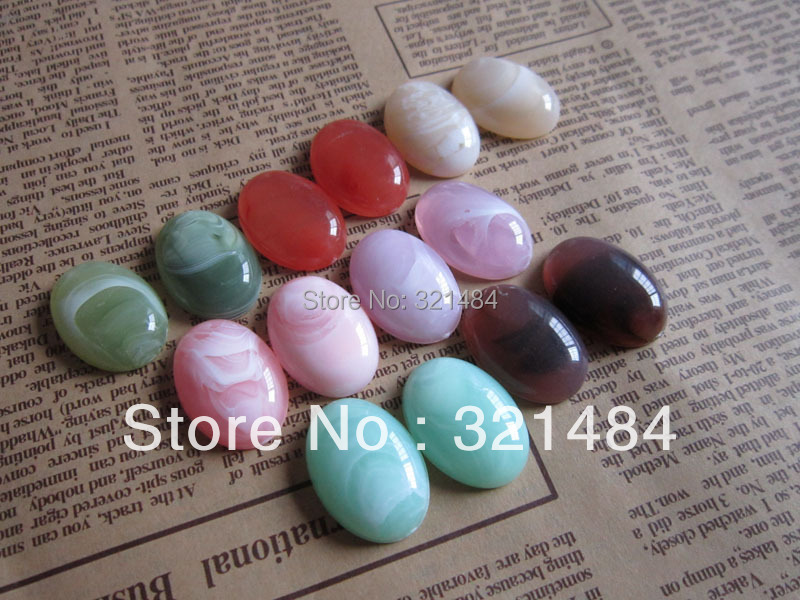 wholesale 1000piece/lot 18*25mm acrylic oval flatback resin cameo cabochon mix for bezel blank ring,pendant,earring,bow diy<br><br>Aliexpress
