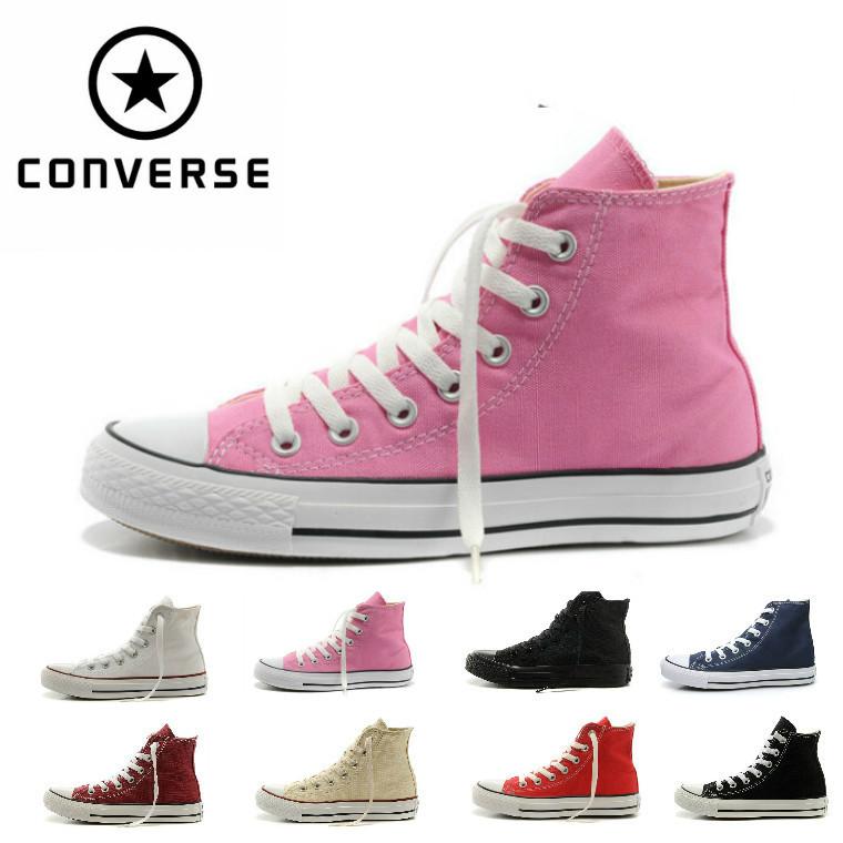 Бесплатная доставка 2015 конверс мужские и женские кроссовки для мужчин и для женщин низкие классические розовый