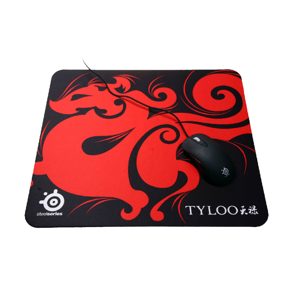 New TYLOO Brand SteelSeries QcK Gaming Mouse Pad Mat Medium S Size 320*250*4MM(China (Mainland))