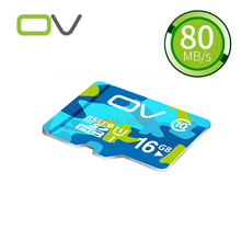 2PCS/LOT OV Colorful Memory Micro SD Card 16GB Class 10 TF Microsd Flash Card SDCard for Mobile Phone Smartphone Tablet MP3 MP4(China (Mainland))