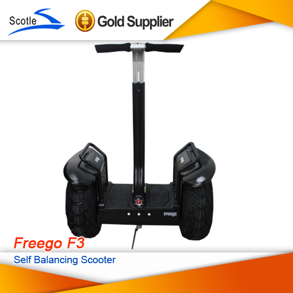 FreeShipping Freego F3 Outdoor Sports 2 Wheel Personal Transporter Self Balance Electric Scooter 2000w Off Road Electric Vehicle(China (Mainland))