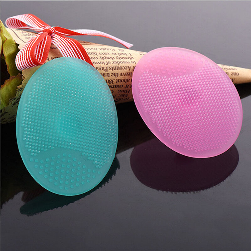 Beauty Accessories Infant Baby Soft Silicone Face Wash Cleaning Pad Facial Exfoliating Brush SPA Skin Scrub Cleanser Tool(China (Mainland))