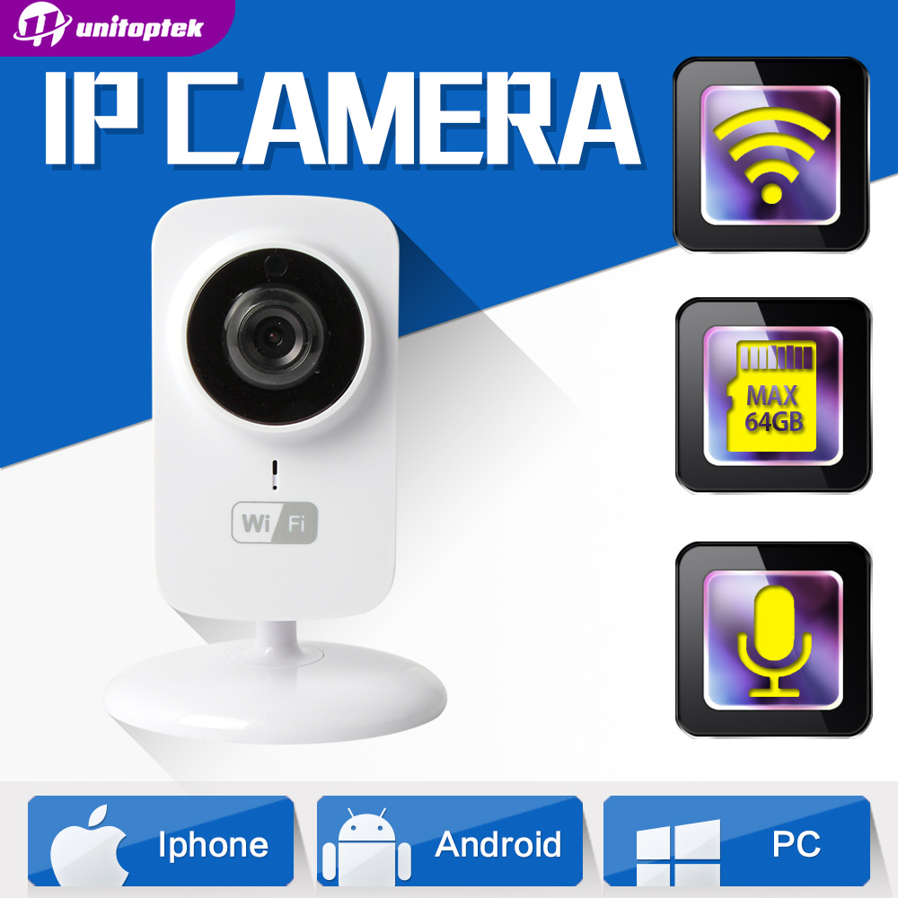 buy hd 720p mini wifi ip camera home protection wireless baby monitor 1 0mp. Black Bedroom Furniture Sets. Home Design Ideas