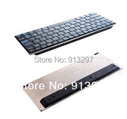 84 Keys QWERTY Rii Mini i9 Ultra Slim Bluetooth Wireless Keyboard for PC HDPC TV Free Shipping +Drop Shipping Wholesale(China (Mainland))