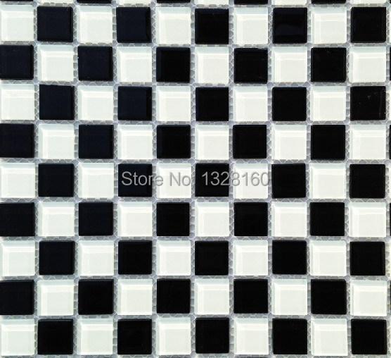 Гаджет  Black and white board glass Mosaic Ceramic tile wall brick floor tile of toilet wall of  sitting room in the kitchen None Строительство и Недвижимость