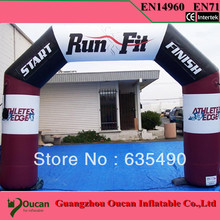 Buy Free 6m Inflatable Arch Event Entrance Finish Line Sports Events Advertising Inflatables blower&1color logo for $580.00 in AliExpress store