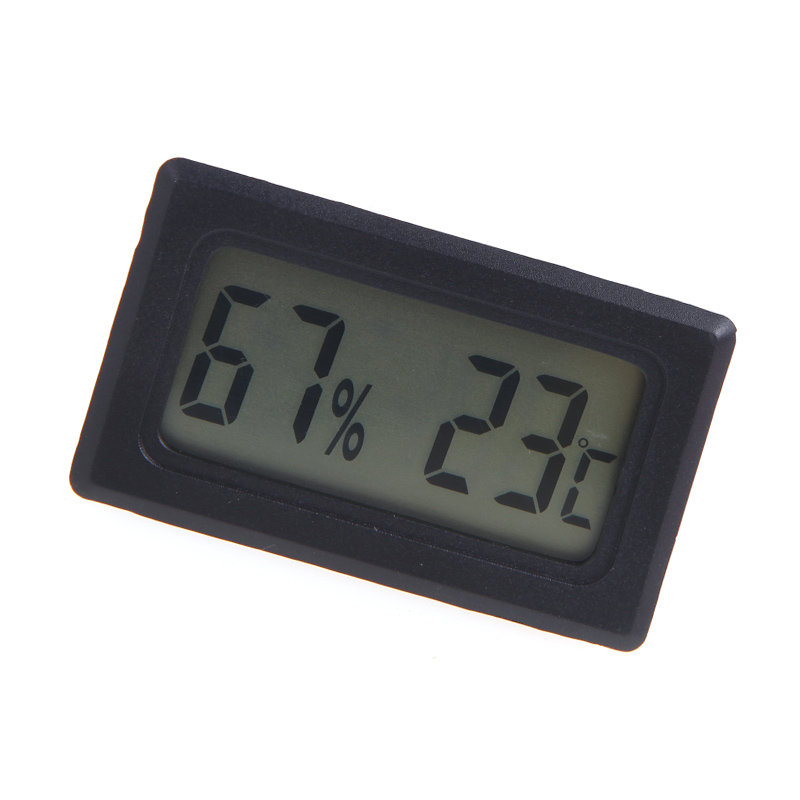 Mini Digital Thermometer Hygrometer weather station diagnostic-tool Practical Humidity thermostat Instrument Temperature Meter(China (Mainland))
