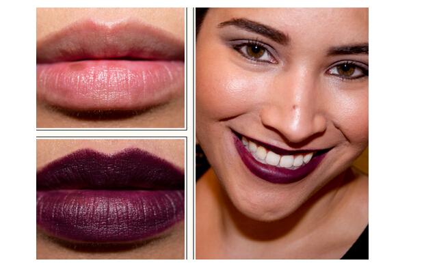 Purple Vampire Makeup images